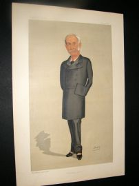 Vanity Fair Print 1890 Sir Edward Bradford